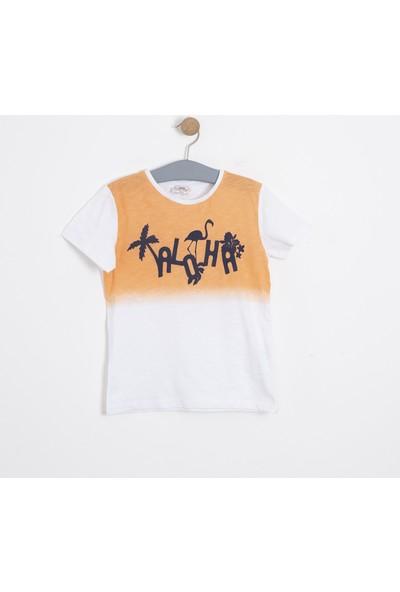 Soobe Erkek Çocuk T-Shirt Beyaz
