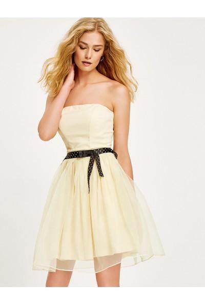 Koton Straplez Elbise