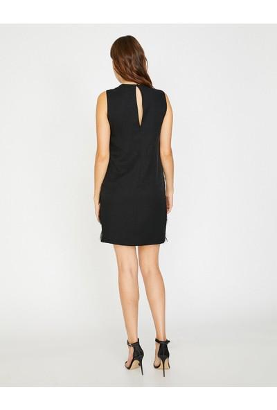 Koton İp Detaylı Elbise