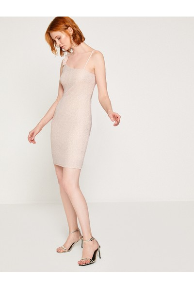Koton Sim Detaylı Elbise