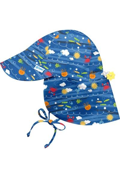 iplay Upf 50+ Güneş Korumalı Flap Bebek Güneş Şapka