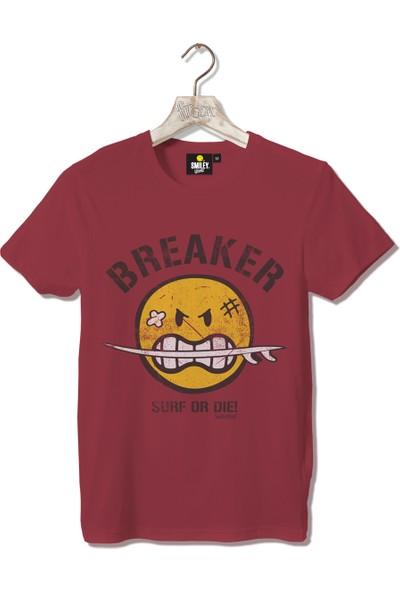 Smiley Breaker Erkek Tshirt