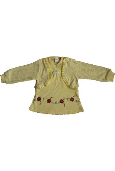 Nafitto Nakışlı Kız Takım Elbise