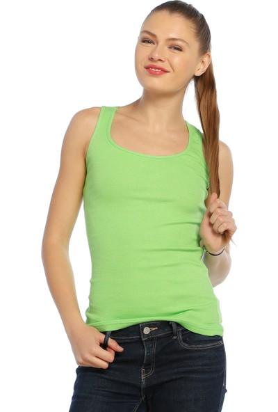 Darkzone Sporcu Kadın Yeşil Atlet Byn7005