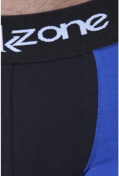 Darkzone Blue Yinyang Design Erkek Boxer Dzn2415Sks