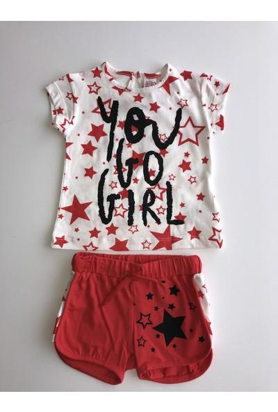 Dmb Kız Çocuk Şortlu Takım
