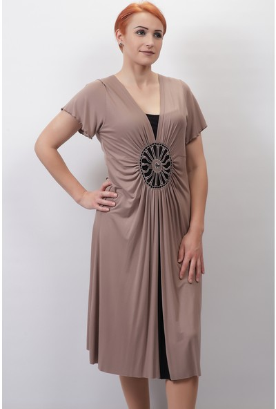 S-Vup Penye Elbise 3261