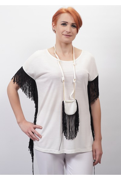 S-Vup Penye Bluz 3276