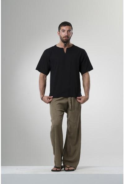Eliş Şile Bezi Kk Bisiklet Yaka T-Shirt