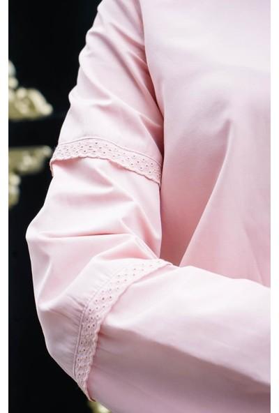 Abacı Kadın Pembe Gömlek 11865-R58-44