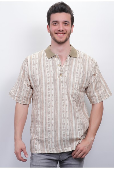 Midi Erkek Tshirt Keten 1514