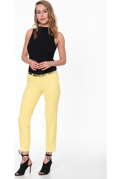 İroni Dar Paça Kumaş Pantolon