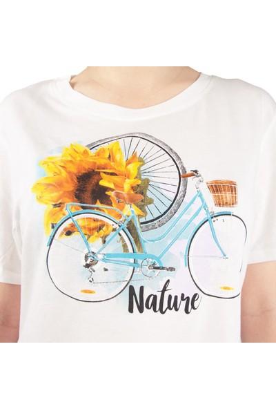 Biggdesign Nature Kadın T-Shirt By Aysu Bekar