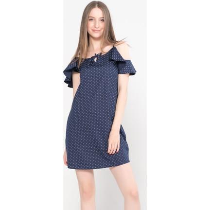 98081df1ae85f Vena Talia İndigo Çiçekli Denim Elbise Fiyatı - Taksit Seçenekleri