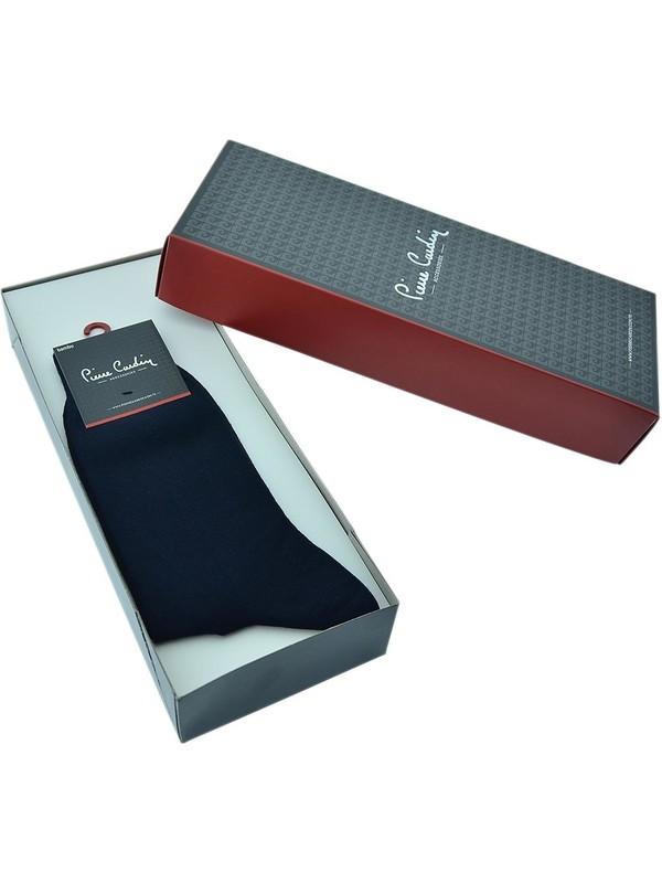 Pierre Cardin Erkek Bambu Çorap 6'lı Set Lacivert 800