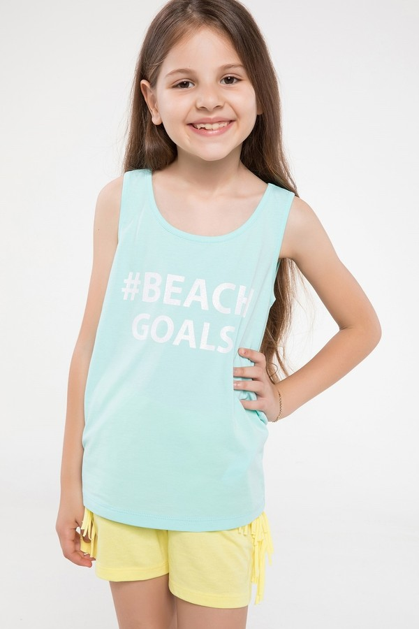 Defacto Printed Girl's Top