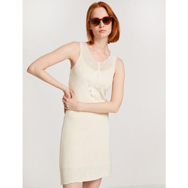 9ea5038f2c442 Koton Desenli Elbise - XL - Ekru Fiyatları, Özellikleri ve Yorumları ...