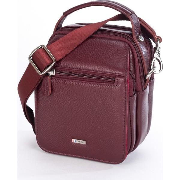 Alpe Deri Erkek Omuz çantası Bordo Fiyatları özellikleri Ve