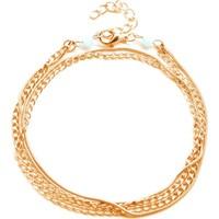VipBT 5 Sıra Zincir Halhal Altın Sarısı