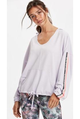 Lc Waikiki Kadın Kapüşonlu Sweatshirt