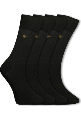 Adonis Erkek Çorap Modal 4 Çift Set Kahverengi