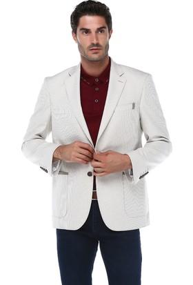 İmza Comfort Fit Desenli Ceket
