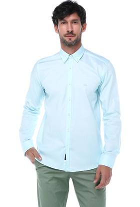İmza Slim Fit Düz Uzun Kol Gömlek