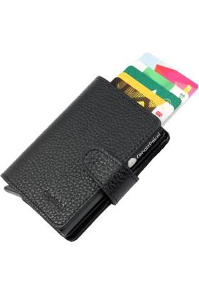 Cengiz Pakel Mekanizmalı Wallet Erkek Kartlık Cüzdan
