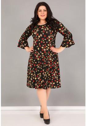 Mooi Büyük Beden Kadın Elbise