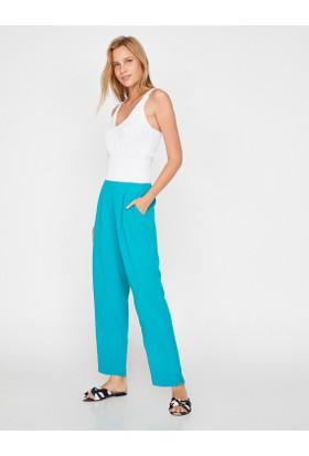 Koton Kadın Yüksek Bel Pantolon