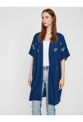 Koton Kadın Desenli Kimono