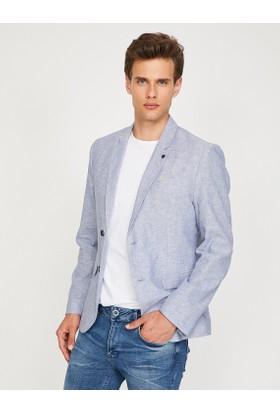 Koton Erkek Klasik Yaka Blazer Ceket