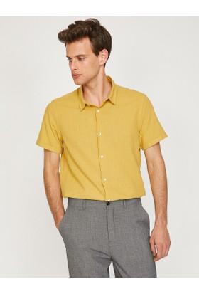 Koton Erkek Klasik Yaka Shirt