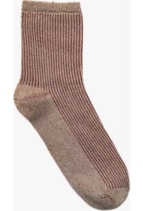 Koton Kadın Desenli Çorap