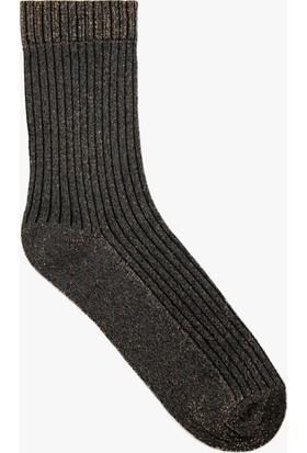 Koton Kadın Düz Çorap