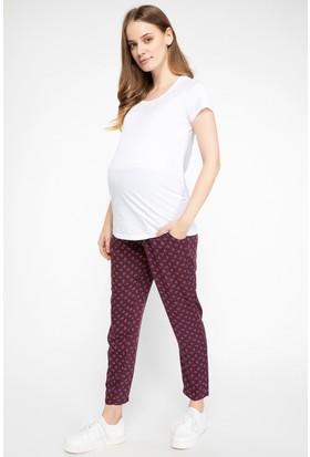 Defacto Kadın Desenli Hamile Pantolonu