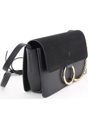 Biggi 956 Kadın Postacı Çanta Siyah