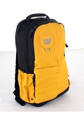 Cat 83441 Erkek Spor Sırt Çantası Siyah Sarı