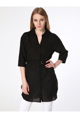 Fashion Friends 8B0880B1 Kadın 0880 Tunik Gömlek Siyah