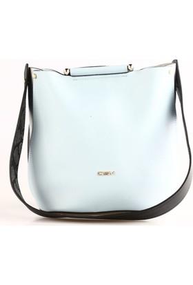 Dsn Y4353 Kadın Günlük Çanta Mavi