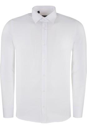 Sabri Özel Erkek Uzun Kollu Gömlek 4185009