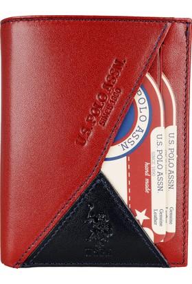 U.S. Polo Assn. Erkek Cüzdan Plcz8424 Bordo