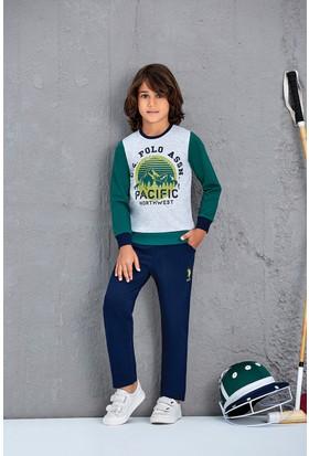 U.S. Polo Assn. Erkek Çocuk 2'Li Takım Yeşil