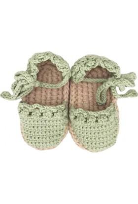 Pacco Baby Yeşil Bebek Espadril
