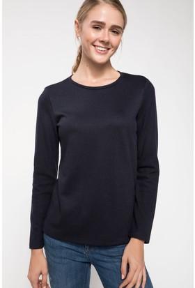 Defacto Kadın Uzun Kollu Basic Sweatshirt