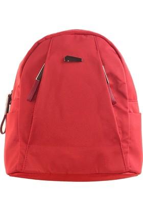 Bilik Fashion Kadın Sırt Çantası Kırmızı Stn7044
