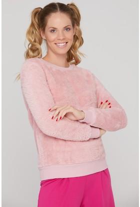 FullaModa Peluş Sweatshirt