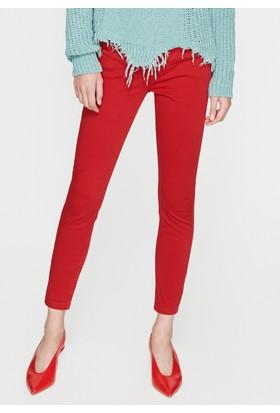Mavi Kırmızı Pantolon