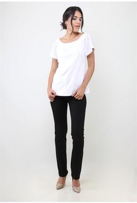 Dodona 2825 Siyah Kadın Pantolon