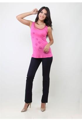 Dodona 2569 Lacivert Kadın Pantolon
